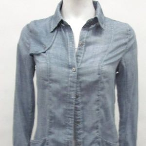 FREE PEOPLE  denim shirt